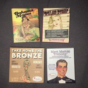 THE BALM COSMETICS makeup minis bundle